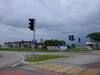 Sime Darby - Sime Darby Business Park in Pasir Gudang, Johor.