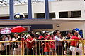 Singapore Democratic Party supporters, Greenridge Secondary School, Singapore - 20110427-01.jpg