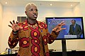 Singer Angélique Kidjo talks to bloggers behind-the-scenes at the Nutrition for Growth.jpg