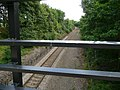 Single line track leaving Silkstone Common - geograph.org.uk - 932195.jpg
