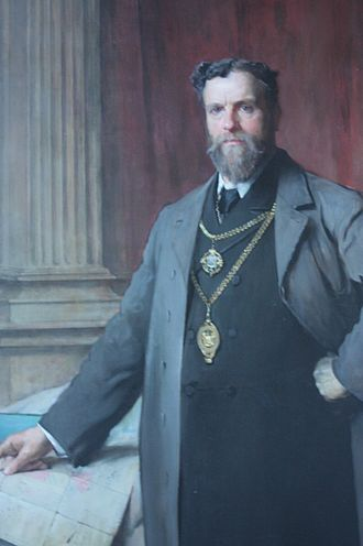 Edinburgh Corporation election, 1894 - McDonald (pictured) replaced Russell as Lord Provost following the election.
