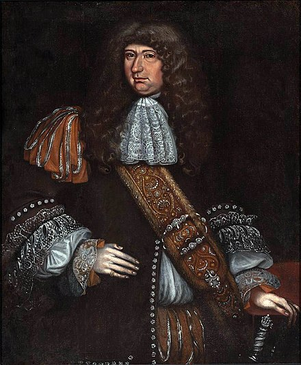 Attributed to Thomas Smith, Portrait of a Man, probably Sir George Downing (1624-1684). Harvard Art Museums Sir George Downing by Thomas Smith.jpeg