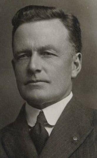 1928 Tasmanian state election - Image: Sir John Mc Phee