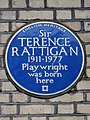 Sir TERENCE RATTIGAN 1911-1977 Playwright was born here.jpg