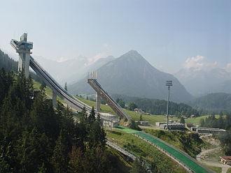 Four Hills Tournament - Image: Skisprungschanze oberstdorf