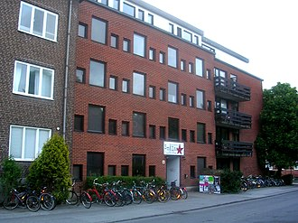 Småland Nation, Lund - Office and housing