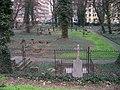 Smíchov, Malostranský hřbitov, z Duškovy (01).jpg
