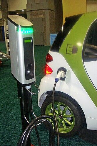Smart electric drive - Smart ED recharging
