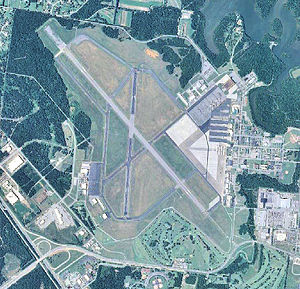 Sewart Air Force Base - 2006 USGS airphoto