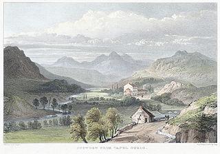 Snowdon from Capel Curig