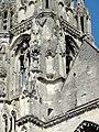 Soissons (02), abbaye Saint-Jean-des-Vignes, abbatiale, tour nord, étage de beffroi, angle sud-ouest.jpg