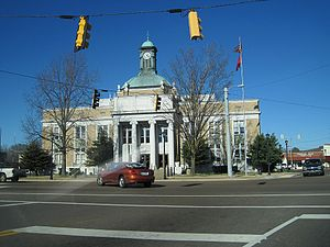 Fayette County, Tennessee - Image: Somerville TN 01 2012 003