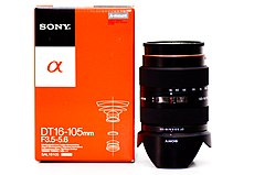 Sony DT 16-105mm SAL with box.jpg