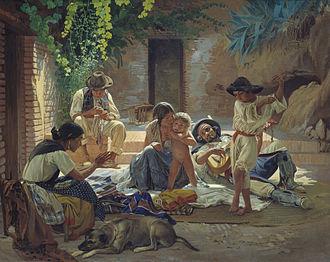Romani people in Spain - Spanish Romani people. Yevgraf Sorokin, 1853.