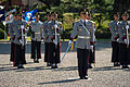 South Korean service members stand at attention during a change of command ceremony for the United Nations Command, Combined Forces Command and U.S. Forces Korea Oct. 2, 2013, in Seoul, South Korea 131002-D-KC128-325.jpg
