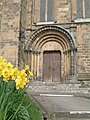 South Transept Door of Ripon Cathedral - geograph.org.uk - 183910.jpg