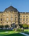 South facade of the Wurzburg Residence 03.jpg