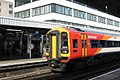 Southampton - SWR 158888 (SWT livery) Romsey service.JPG