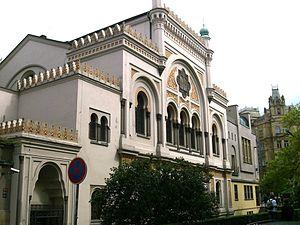 Spanish Synagogue (Prague) - Image: Spanish Synagogue