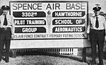 Spence Air Base - 1954 Entrance Sign.jpg