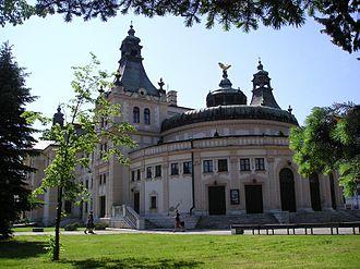 Spišská Nová Ves - Reduta Theatre in Spišská Nová Ves