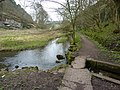 Spring flowing into the River Bradford - geograph.org.uk - 1806062.jpg