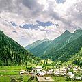 Square Panorama of Aru Valley, Jammu and Kashmir, India.jpg