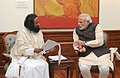 Sri Sri Ravi Shankar with PM Modi.jpg