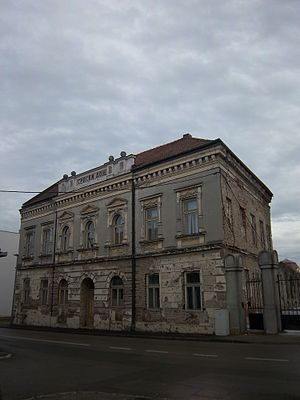 Church of St. Nicholas, Vukovar - Serbian Home Vukovar building still waiting for restoration