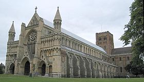 Image illustrative de l'article Cathédrale Saint-Alban de St Albans