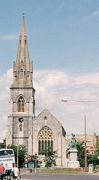 St. John's church, Melcombe Regis in 1992.jpg