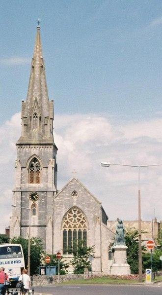 Melcombe Regis - Parish church of St. John