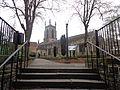 St. John the Evangelist Church, New Briggate, Leeds (12th April 2014) 003.JPG