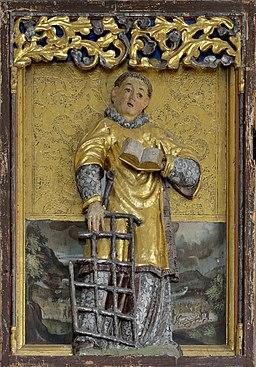 St. Margareth in Obervöls am Schlern Flügelaltar Heilige Laurentius
