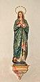 St. Nicholas, Fladnitz - statue of Virgin Mary.jpg