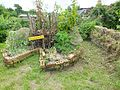 St Ann's Community Orchard African keyhole bed 1304.JPG