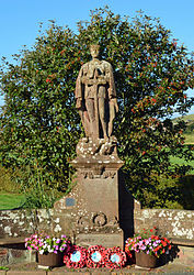 St Bees war memorial - St George and the dragon.jpg