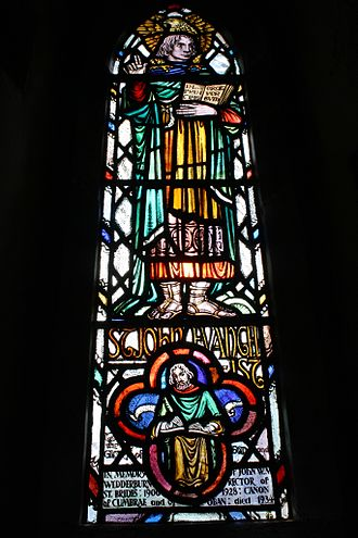 Margaret Chilton - Margaret Chilton Window in St Bride's Church in the Highlands of Scotland. Image courtesy Reverend Adrian Fallows.