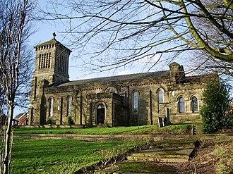 Pendlebury - Image: St John's church, Pendlebury
