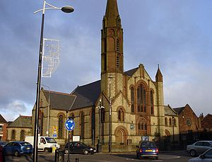 Hindley, Greater Manchester - St John's Methodist Church.