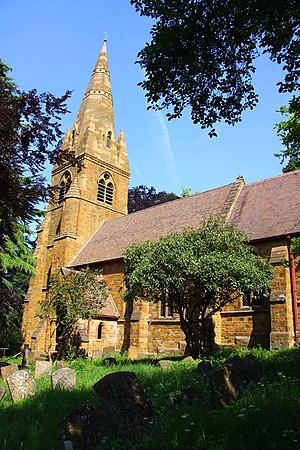 English: St John the Baptist church in Avon Da...