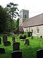 St Margaret's church - churchyard - geograph.org.uk - 1313465.jpg