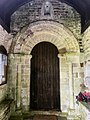 St Mary and St Benedict Buckland Brewer Norman doorway.jpg