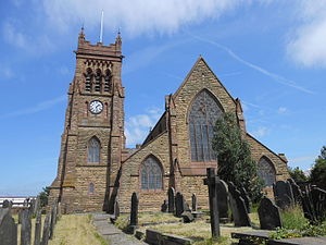 Garston, Liverpool - Image: St Michael's Church, Garston (2)