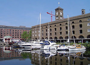 1828 in architecture - St Katharine Docks, London