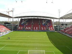 Stadion Galgenwaard - Image: Stadion FC Utrecht Bunnikside