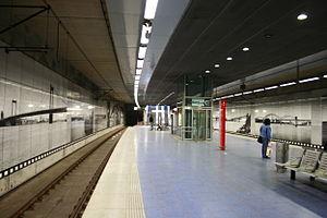 Meiderich - Stadtbahn Meiderich Bf. station in 2009