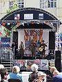 Stage, Liverpool Blitz 70 event - DSCF0122.JPG