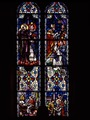 Title: Stained-glass window at St. Dominic Catholic Church in the southwest quadrant of Washington, D.C
