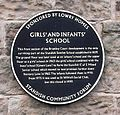 Standish Sunday School plaque, Standish.jpg